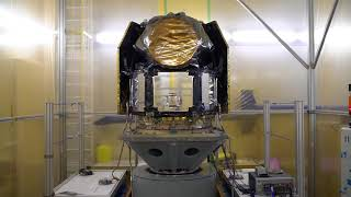 Vibration test of the CHEOPS satellite