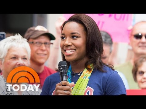 Simone Manuel Is Going Back To School After Rio… With Katie Ledecky! | TODAY