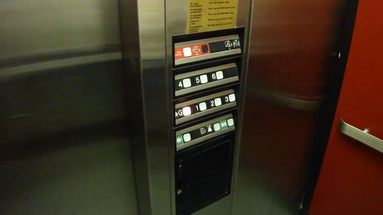 Garage Parking Stop >> Elevator Duo: Dover Hydraulic Elevator at Market Parking ...