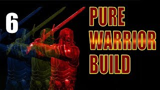 Skyrim Pure Warrior Build Walkthrough SURVIVAL MODE, NO MAGIC Part 6: Warm Steel, Cold Chicken
