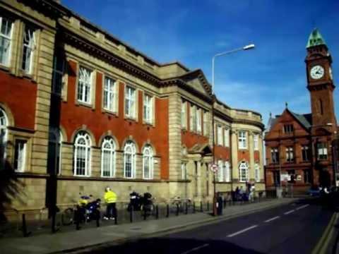 Rathmines Library.Town Hall Clock Tower. Dublin Ireland 6/4/11.