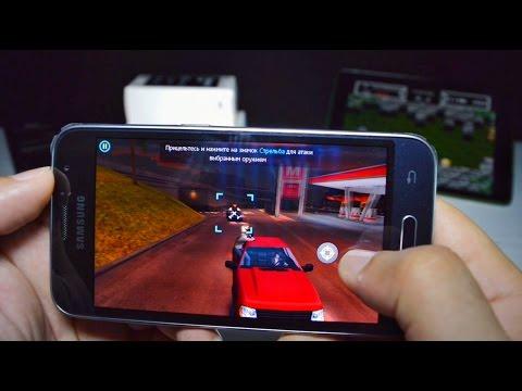 Samsung Galaxy J1 2016 (SM-J120H) Производительность в играх