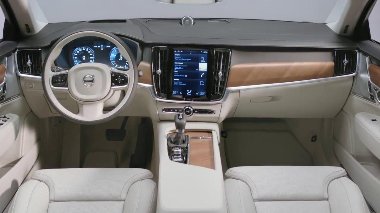 Volvo V90 - Interieur - YouTube