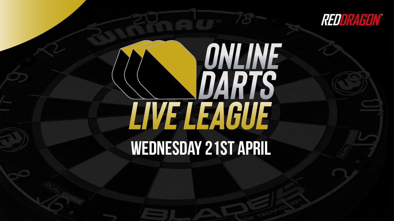 Online Darts Live League Wednesday 21st April 2021 Youtube