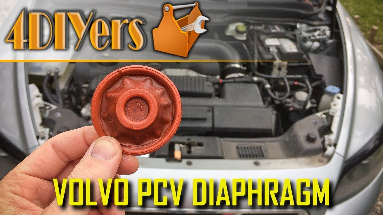 how to replace the pcv diaphragm on a volvo t5 money saving way [ 1280 x 720 Pixel ]