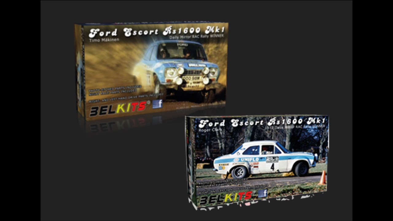 Belkits 1 24 Ford Escort Rs1600 Mk 1 Scale Model Review