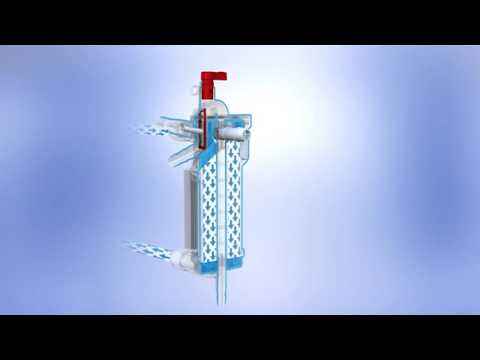 PLEGIOX Cardioplegia Heat Exchanger Animation (Not approved for use in USA)