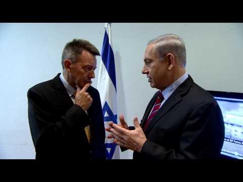 PM Netanyahu Meets ICRC President