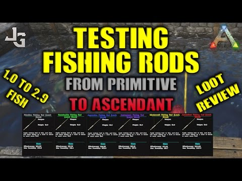 Grand Fishing Rod Test   From Primivite To Ascendant   Loot Review : Playark