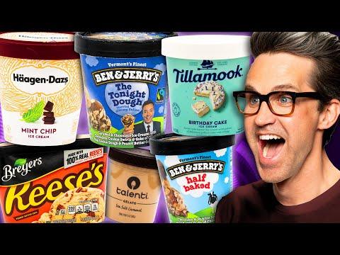 Ice Cream Taste Test Tournament (Day 4)