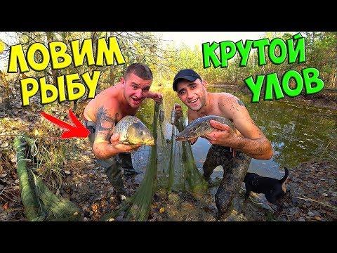 ЛОВИМ РЫБУ НЕВОДОМ С Vitalik Ignatyuk! Такого улова я не ожидал!!