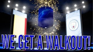 FIFA 19! UCL 2 PLAYER PACKS! WE GET A WALKOUT!!