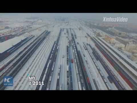 It saves money and increases load! China-Europe freight trains adopt new business model