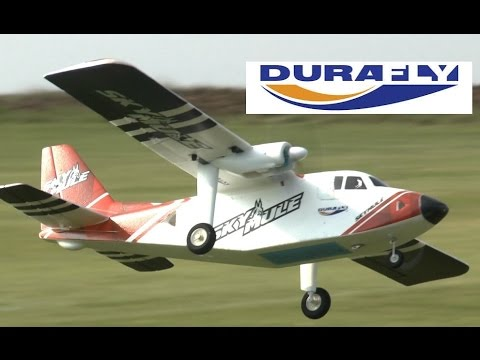 HobbyKing DURAFLY SkyMule (and INVERTED!?) - YouTube