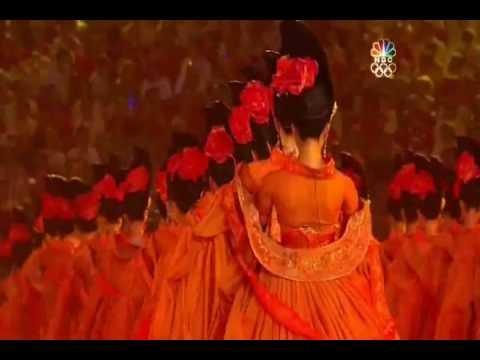 beijing 2008 opening ceremony dance tang dynasty