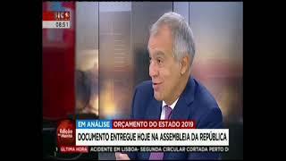 Orçamento do Estado 2019 - entrevista de Jaime Esteves para a SIC Notícias