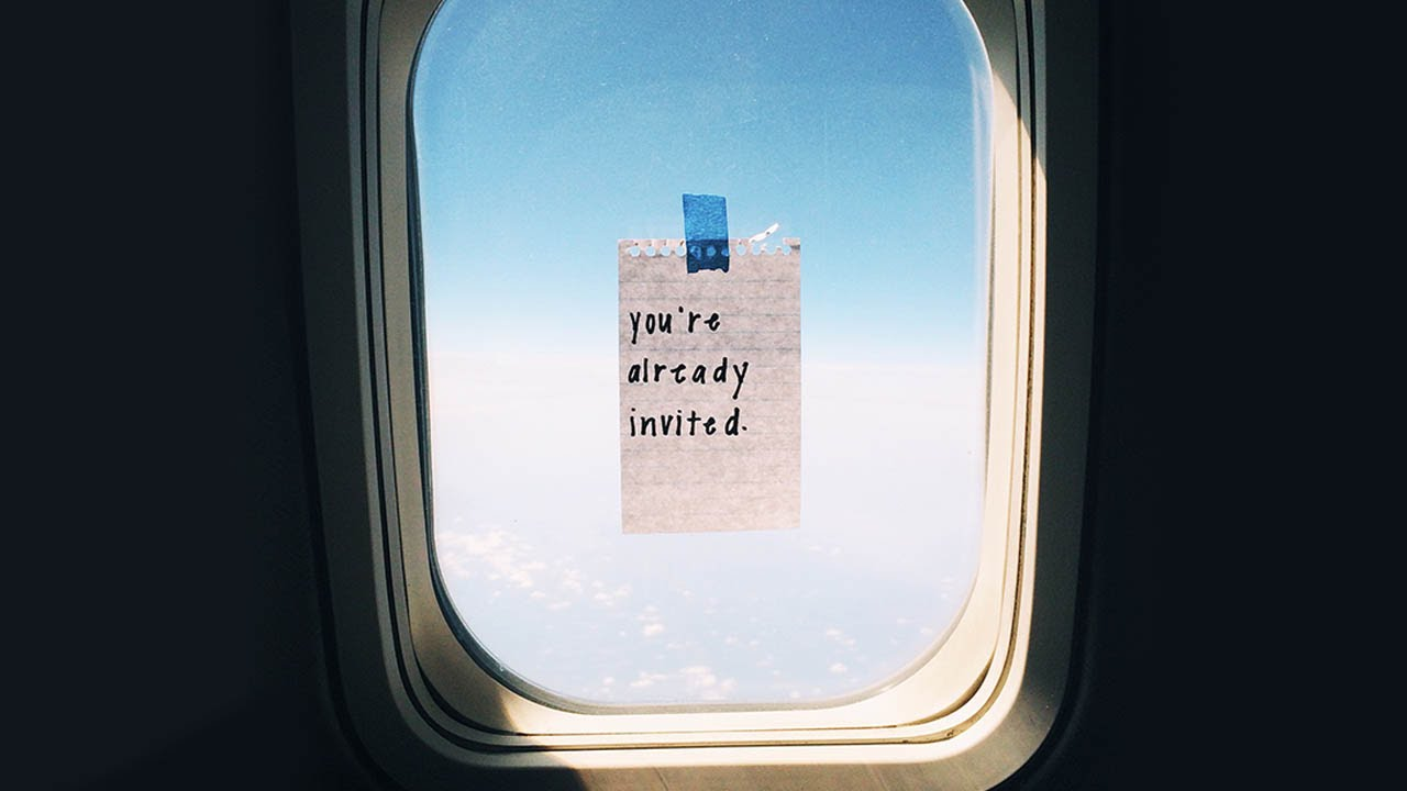Who S Leaving Secret Notes On Airplane Windows Youtube