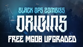 """FREE PACK A PUNCHED MGO8!"" - Black Ops 2 ""ORIGINS"" Zombies TUTORIAL! (Maxis Drone Secret)"