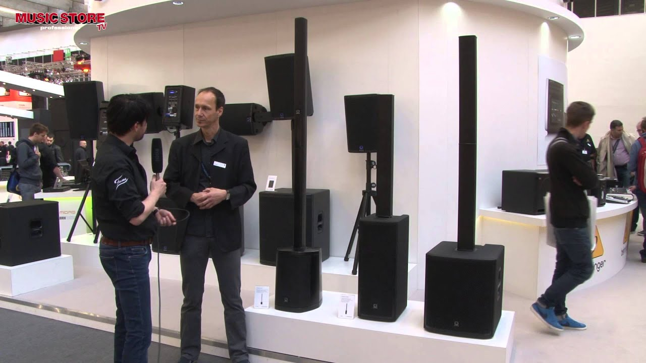 Turbosound Ip Series Pa Column Speaker Musikmesse 2015