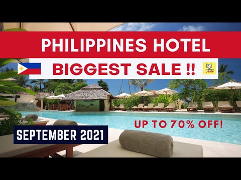 Philippines Hotel Biggest Sale   Tourism Reopening Promotions  2021- 2022