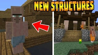 NEW VILLAGES & STRUCTURES!!! - MCPE 0.15.4 Life Mod - Minecraft PE (Pocket Edition)