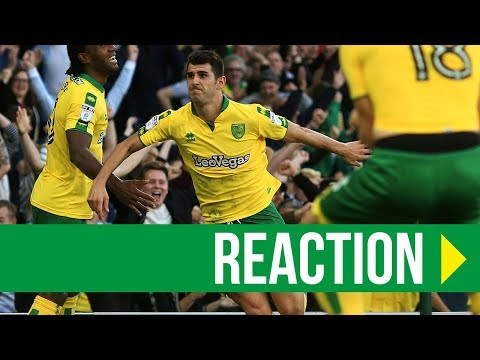 Norwich City 1-1 Hull: Nelson Oliveira Reaction