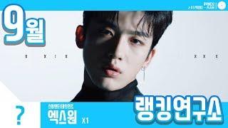 [랭킹연구소] 2019년 9월 보이그룹 순위 (남자아이돌 브랜드) | K-POP IDOL Boy Group …