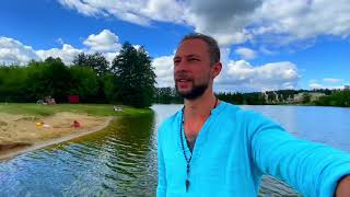 Поездка в деревню , небольшой отпуск , шашлыки , Рязань , рыбалка , купание в реке ,