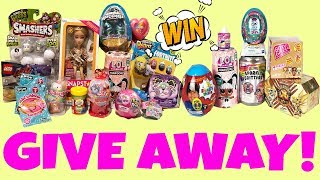 Giveaway LEGO Movie 2, Hatchichals Mermals, LOL Surprise, Fortnite, Shopkins™, Ryan's World Toys