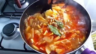 Гагаузская кухня / Простая и очень вкусная тушеная  картошка без мяса / Постное блюдо из картошки