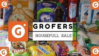 Grofers Housefull Sale ^ My Grofers Shopping haul ^ monthly grocery shopping haul ^ MY Shopping Cart