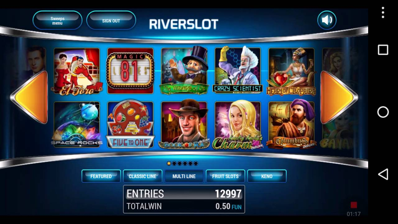 RiverSweeps Mobile Client: Play-at-Home with Mobile App or PC