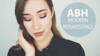 2 LOOKS 1 PALETTE | ABH Modern Renaissance | ALLIE G BEAUTY