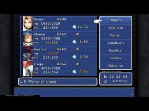 FINAL FANTASY IX PS4 Level up 90 to 99 in 15 minutes