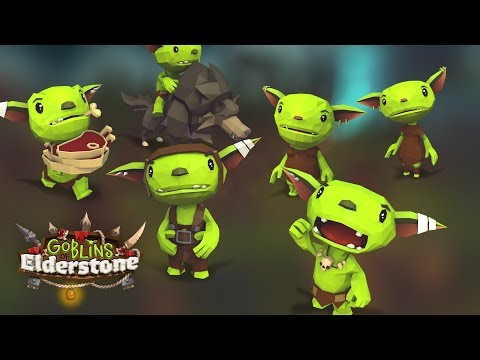 Goblins of Elderstone Gameplay 2018 - Building a Goblin Colony and Crafting Gear!