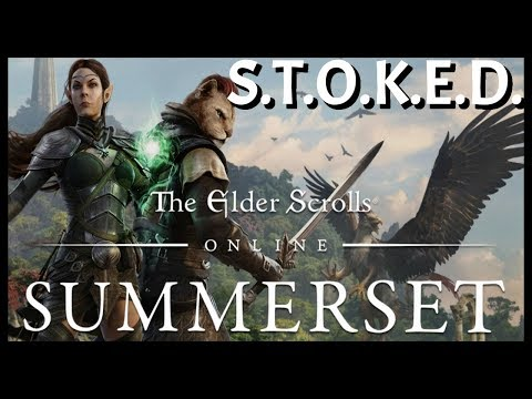 Elder Scrolls Online: Summerset DLC Discussion | ESO Is The Gift that keeps on Giving