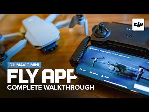 DJI Fly App Complete Walkthrough for the Mavic Mini