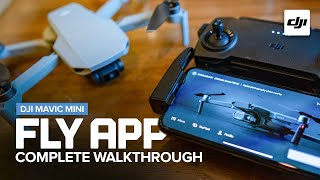 DJI Fly App Complete Walkthrough for the Mavic Mini screenshot 2