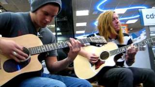We The Kings - All Again For You (Acoustic) Lubbock Tx