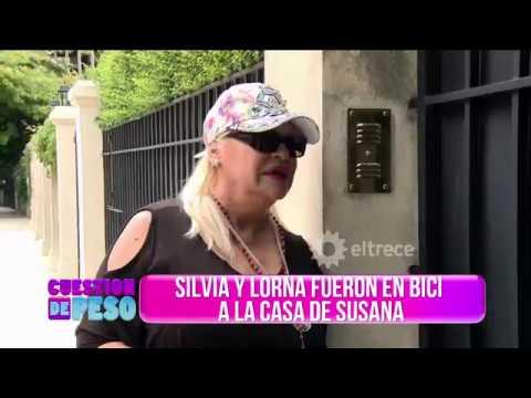 El gracioso blooper de Silvia Süller cuando agarró la bici en Cuestión de peso