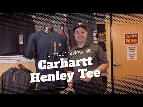 ctk84 Carhartt Henley product review