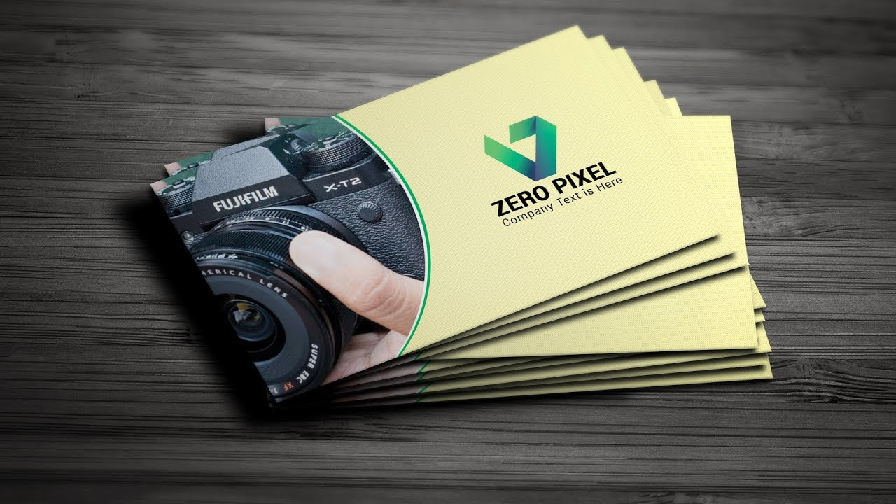 How to Create a Business Card using Pattern   Photoshop Business Card Design