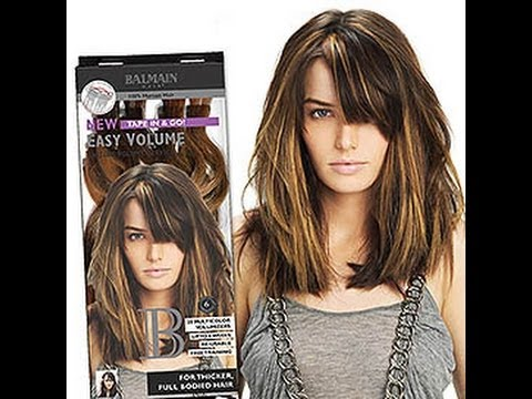 lowest price free delivery on feet shots of Extensions Easy Volume de Balmain Hair