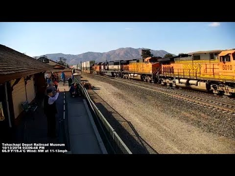 Tehachapi Live Train Cams at the Tehachapi Depot Railroad Museum