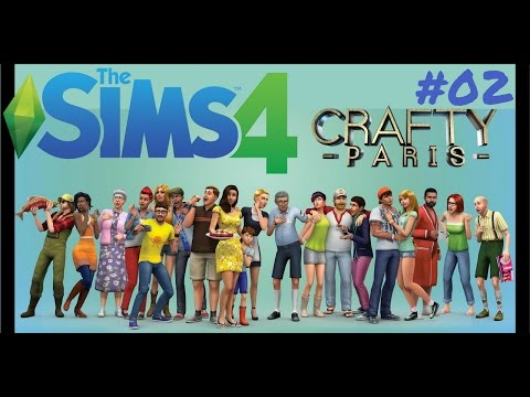 SIMS 4 Gameplay | Live Stream #02 | Crafty Paris |  🔹🔹🔹