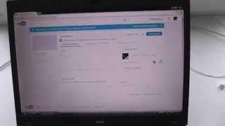 Загрузка видео в you tube.Ноутбук MSI