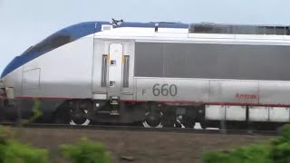 AMTRAK TRAINS ON THE NORTHEAST CORRIDOR MOVIE