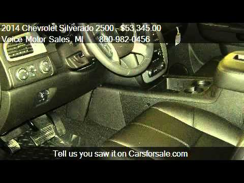 2014 chevrolet silverado 2500 ltz for sale in kalkaska for Voice motors kalkaska michigan