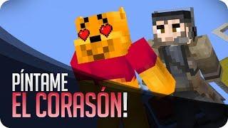 Píntame el corasón! | Minecraft Pinta y Adivina