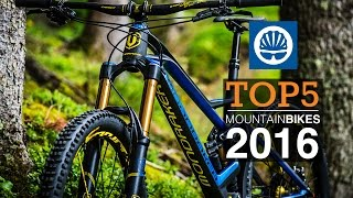 Top 5 - 2016 Mountain Bikes